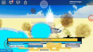 Roblox Dragon ball N: Update goku and God Yamcha!!!