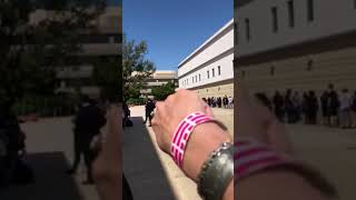MONSTERPALOOZA 2018 the line on Saturday morning to get in