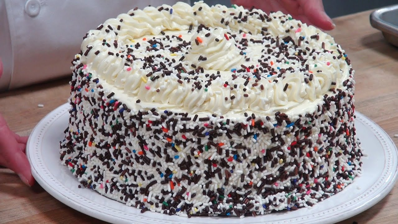 Simple way to make ice cream cake at home vanilla