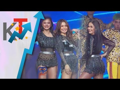 Maja Kim and Kathryn dance to Billboard chart-toppers