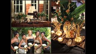 African themed wedding decorations ideas
