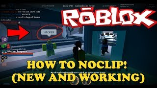 NEW WAY TO NOCLIP (FEB 2018) |Roblox Jailbreak
