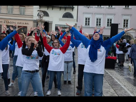 Flashmob Erasmus Tv1
