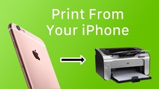 iOS Basics How To Print From iOS With AirPrint