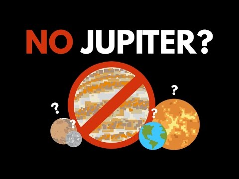 What If Jupiter Never Existed
