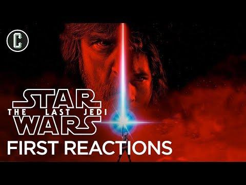 First Star Wars: The Last Jedi Reactions Praise Rian Johnson's Sequel