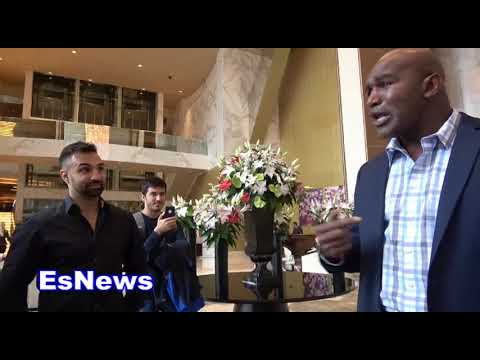 ((MUST SEE)) Evander Holyfield On Last Time He Used His Hands Out Of Ring EsNews Boxing