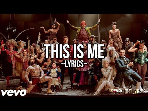 The Greatest Showman  This Me Lyric  HD