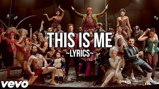 The Greatest Showman - This Me (Lyric Video) HD