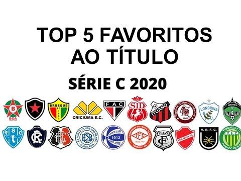 Brasileirao Serie C Top 5 Favoritos Tabela E Classificacao Futebol E Estatistica 13 Set Youtube