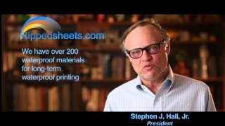 RippedSheets.com WATERPROOF Labels Video