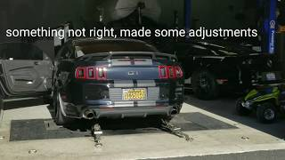 Roush R2300, Phase 1 to 3 supercharger and AED dyno tune