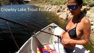 Crowley Lake Trout Fishing - July 22, 2017