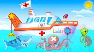 МОРСКОЙ ДОКТОР Дети учаться ухаживать за морскими животными РАЗВИВАЮЩИЙ МУЛЬТИК kids children