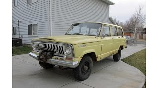 1966 Jeep Wagoneer   Original Paint and Factory Winch