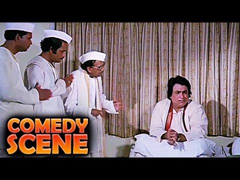 Kader Khan With Party Leaders | Comedy Scene | Jawaab Hum Denge | Jackie Shroff, Sridevi | HD