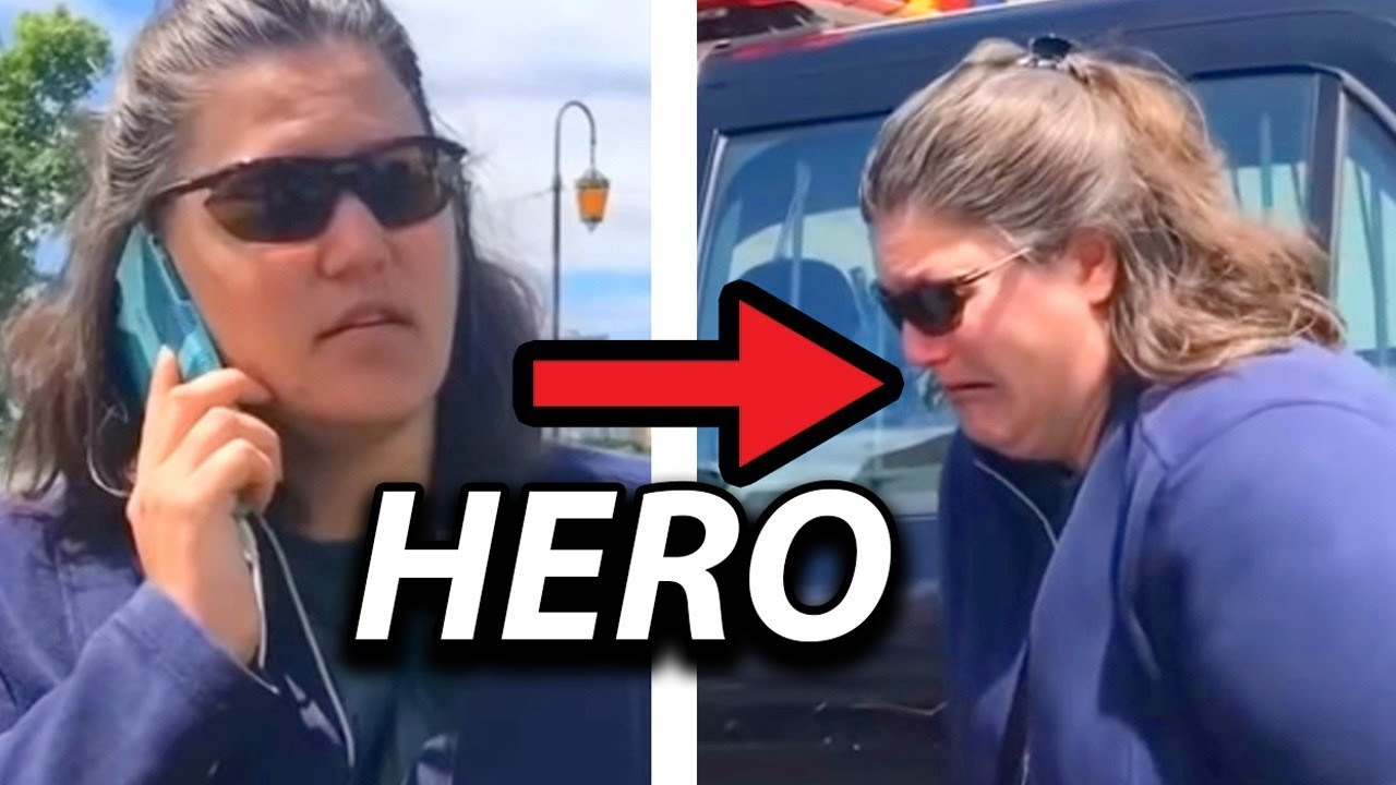 SHE CALLS THE POLICE FOR A BBQ... and then she realizes  [MEME REVIEW] 👏 👏#27