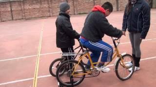 Proyecto Deportivo Especial Despertar - Uriel pedaleando