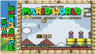 Classic Mario World 2: The Great Alliance (2014) | Super Mario World Hack