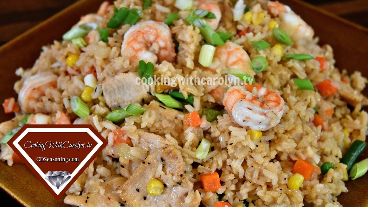 Easy Homemade Shrimp And Chicken Fried Rice Recipe Better Than Take