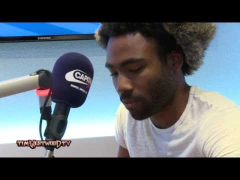 Childish Gambino - Westwood Freestyle (Creates beat live)
