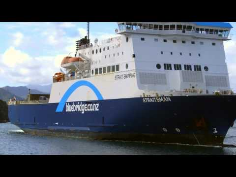 COME ON OVER with Bluebridge - The Cook Strait Ferry