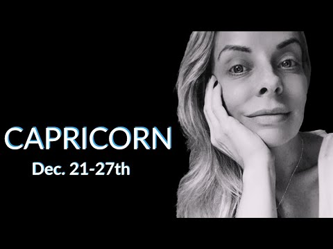 CAPRICORN:  Get the popcorn ready.  They're going to try and explain, and it's gonna be a good one.