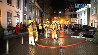 Grote brand in historische woning Voorstraat Middelharnis