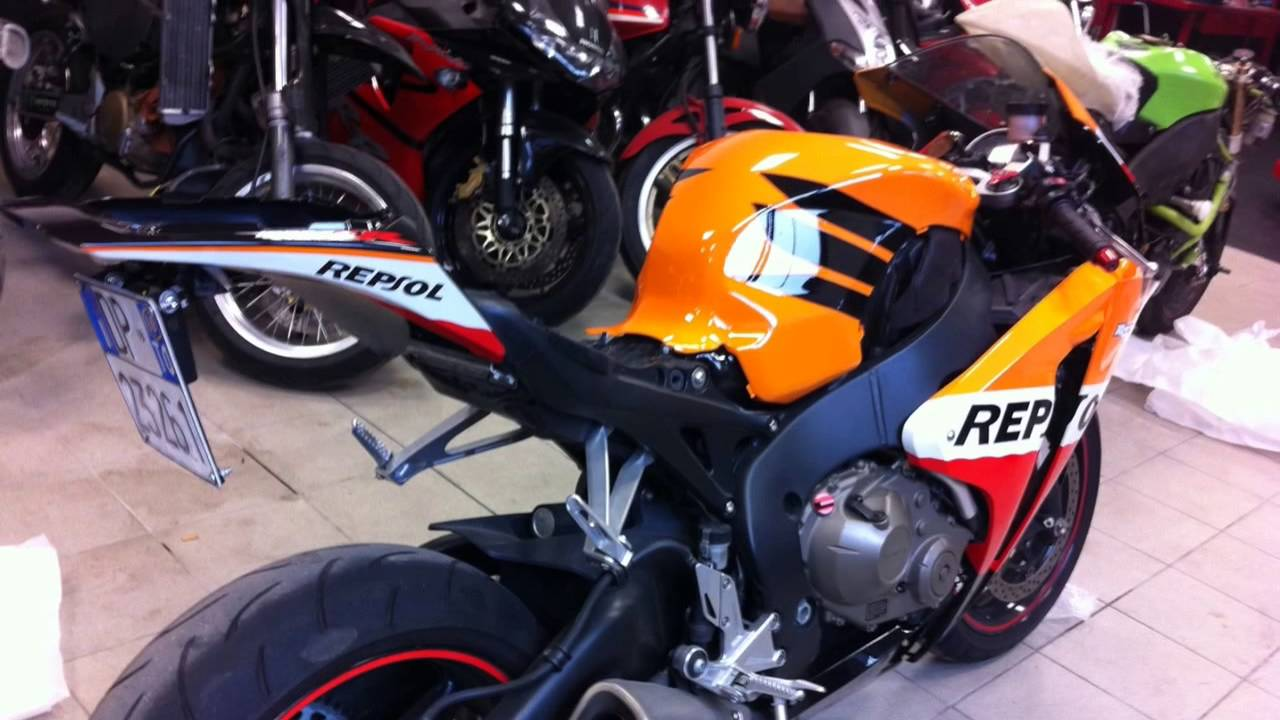 Cbr1000rr 2008 2011 Bike Convert To 2012 2013 Model Youtube