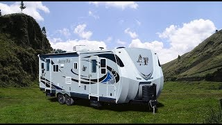 Quick Tour of The New Arctic Fox North Fork 25Y Travel Trailer
