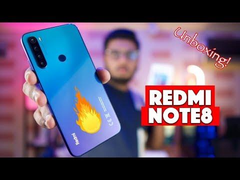 Xiaomi Redmi Note 8 Unboxing | 30000 Range Killer?