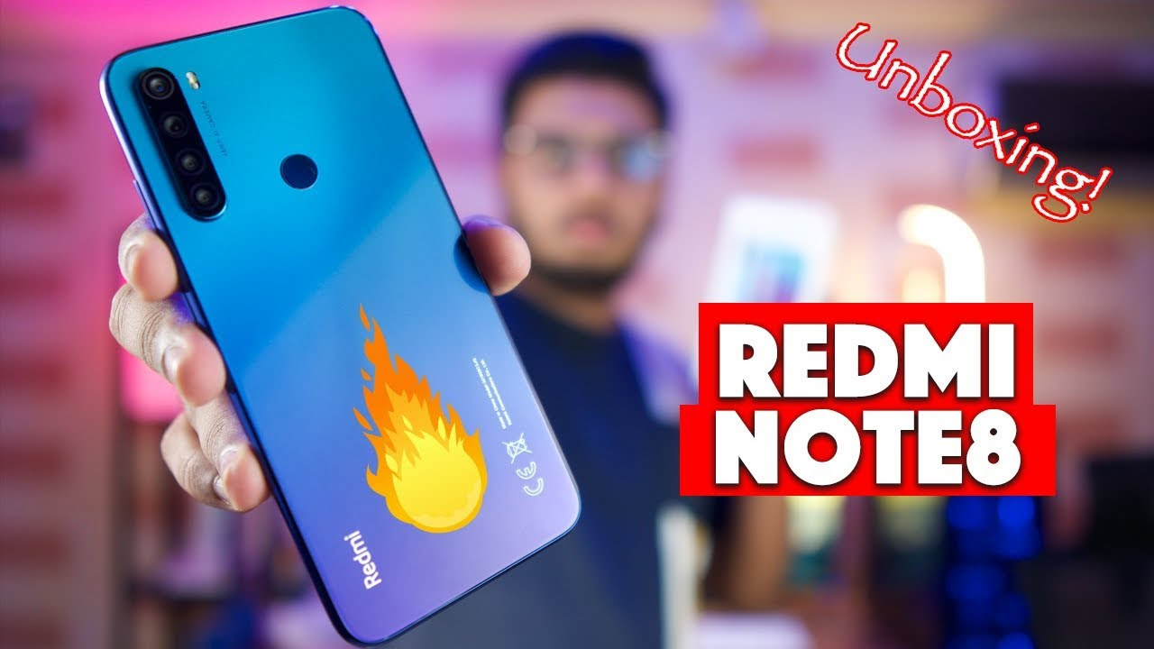 Xiaomi Redmi Note 8 Unboxing 30000 Range Killer Youtube