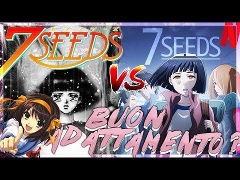 7 SEEDS - Manga e adattamento Netflix