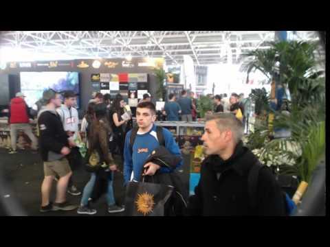 Spannabis 2016 International Cannabis Expo - Barcelona Spain - Timelapse
