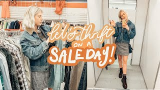 Thrift with me on a SALE DAY +…