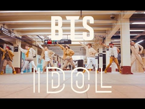 [KPOP IN PUBLIC CHALLENGE NYC] BTS (방탄소년단)   'IDOL'DANCE COVER by I LOVE DANCE