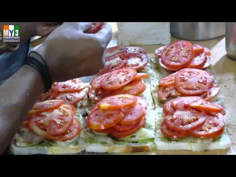MUMBAI SPECIAL SANDWICH  | STREET FOODS IN MUMBAI  | Andheri | 4K VIDEO