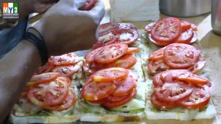 MUMBAI SPECIAL SANDWICH  | STREET FOODS IN MUMBAI  | Andheri | 4K VIDEO street food