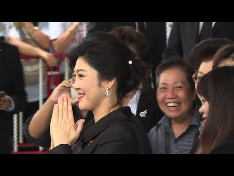 Thai ex-PM Yingluck skips court, arrest warrant issued