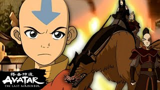 Aang & Team Avatar vs. Zuko + June | Avatar