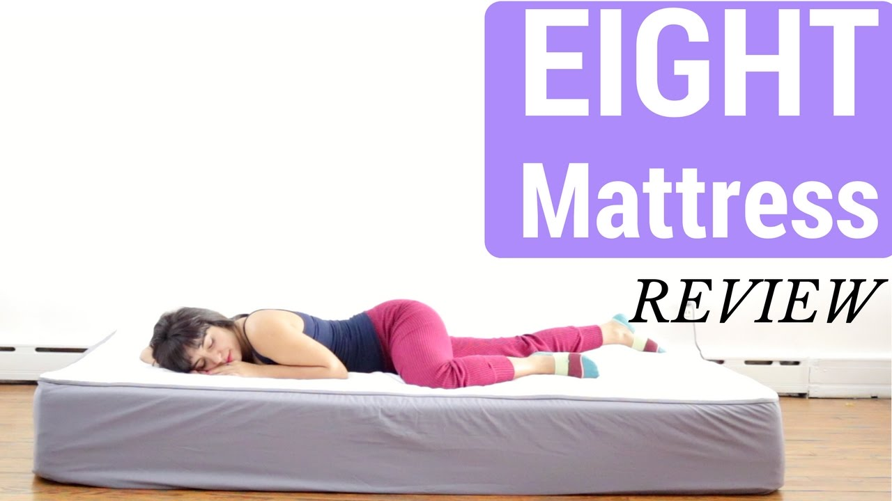 d eight sleep smart mattress review by girl on the mattress youtube