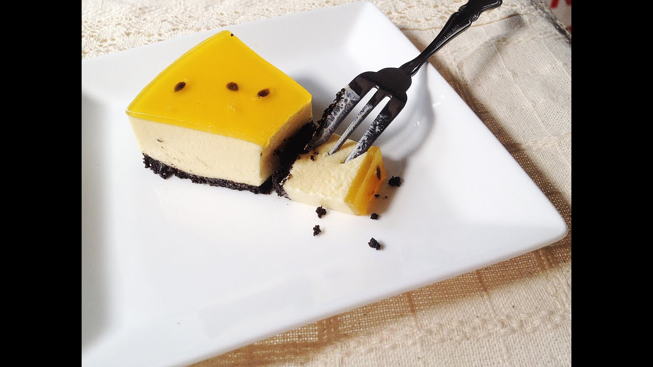 [Viet&English CC] Cheesecake Chanh Dây – Passion Fruit Cheesecake – ChiChi Nguyễn
