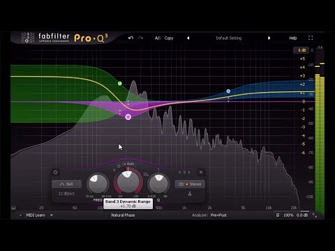 Introduction to FabFilter Pro-Q 3