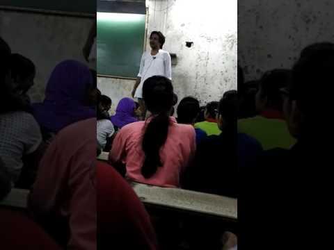 Rathaur mathematics lecture on politics