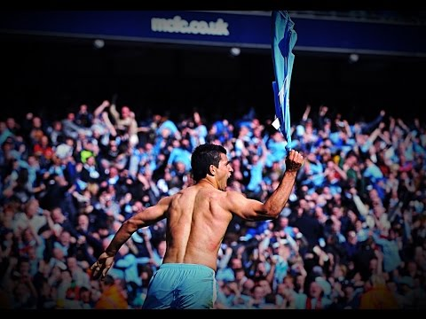 AGUEROOOO!!!Manchester City vs QPR 3-2 - English Commentary HD - city wins the title