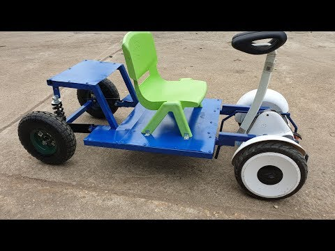 Build Electric Car with Hoverboard | DIY Go kart at Home
