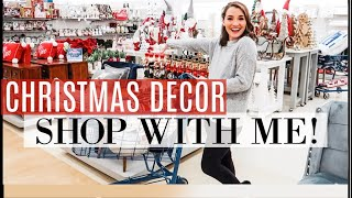 Christmas Decor SHOP WITH ME | *REALISTIC* Affordable Haul | Marshall's Michael's Bath & Body Works