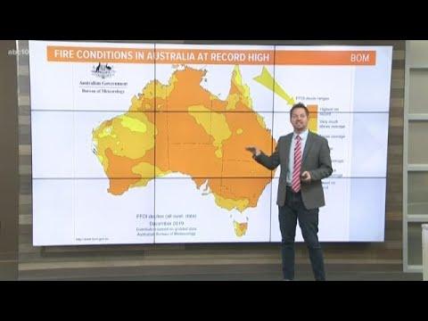 Geek Lab: Poor Winter, Dry Summer Set Up Australia's Bushfire Disaster