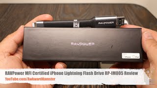 RAVPower MFI Certified iPhone Lightning Flash Drive RP-IM005 Review