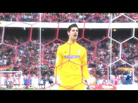 | The striker's nightmare | Thibaut Courtois (2014) HD
